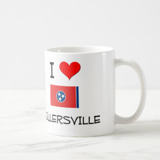 Amo Millersville Tennessee Taza Básica Blanca