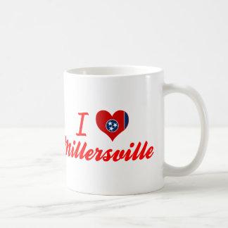 Amo Millersville, Tennessee Taza Básica Blanca
