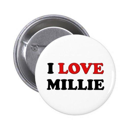 Amo Millie Pin Redondo De 2 Pulgadas