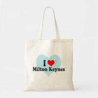 Amo Milton Keynes, Reino Unido Bolsa Tela Barata