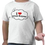 Amo Milton Keynes, Reino Unido Camisetas