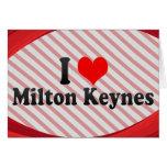 Amo Milton Keynes, Reino Unido Tarjetas