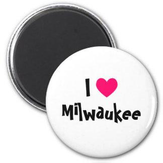 Amo Milwaukee Imán