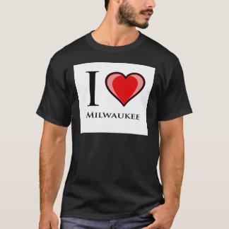 Amo Milwaukee Playera