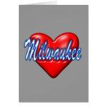 Amo Milwaukee Wisconsin Felicitaciones