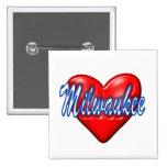 Amo Milwaukee Wisconsin Pins