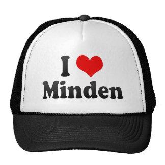 Amo Minden, Alemania. Ich Liebe Minden, Alemania Gorro De Camionero