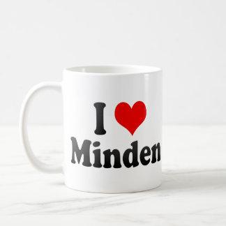Amo Minden, Alemania. Ich Liebe Minden, Alemania Taza