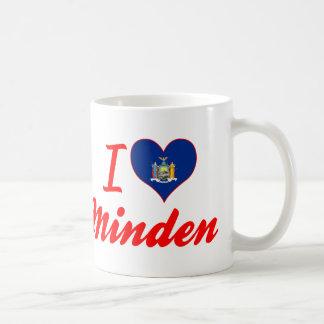 Amo Minden, Nueva York Taza