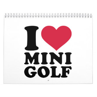 Amo Minigolf Calendario