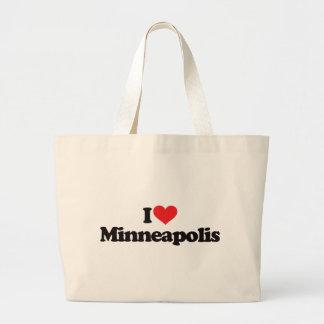 Amo Minneapolis Bolsa De Mano