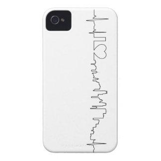 Amo Minneapolis en un estilo extraordinario iPhone 4 Case-Mate Cobertura