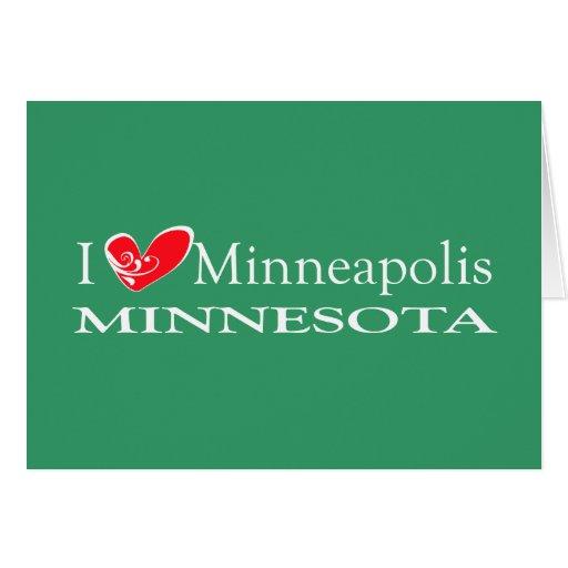 Amo Minneapolis Minnesota Felicitacion