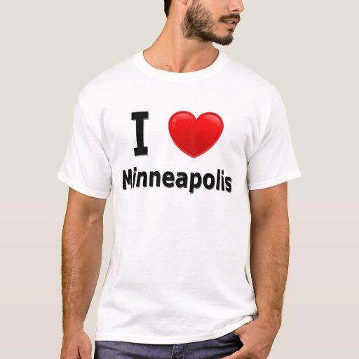 Amo Minneapolis Playera