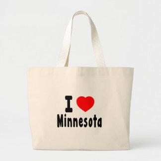Amo Minnesota Bolsas De Mano