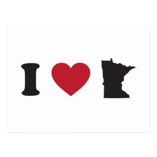 Amo Minnesota Postales