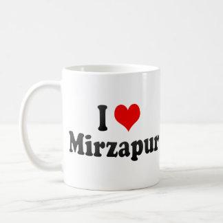 Amo Mirzapur, la India. Mera Pyar Mirzapur, la Ind Taza Básica Blanca