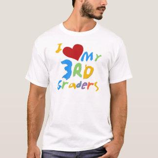 Amo mis 3ro camisetas y regalos de los graduadores