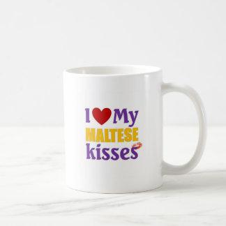 Amo mis besos malteses tazas