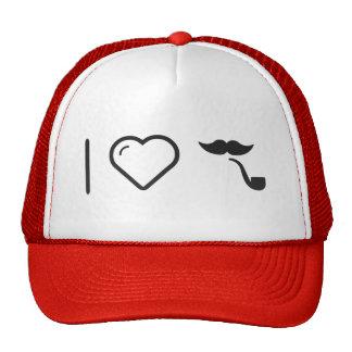 Amo mis bigotes gorro de camionero