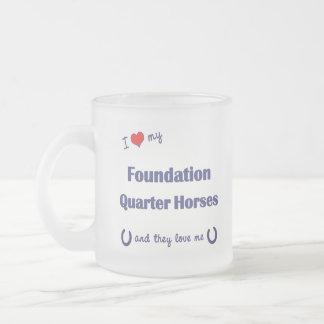 Amo mis caballos del cuarto de la fundación (los c tazas