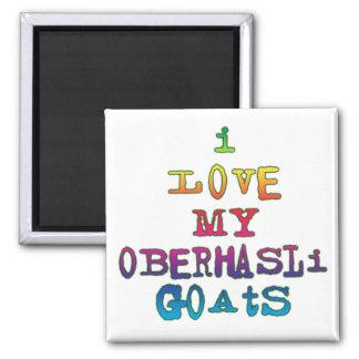 Amo mis cabras de Oberhasli Imán De Frigorífico