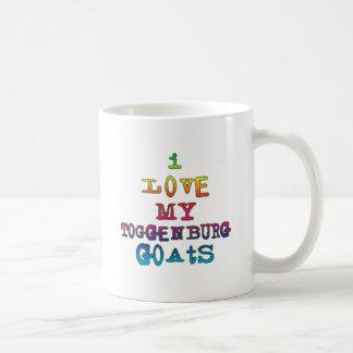 Amo mis cabras de Toggenburg Tazas De Café