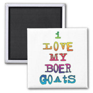 Amo mis cabras del Boer Imanes Para Frigoríficos