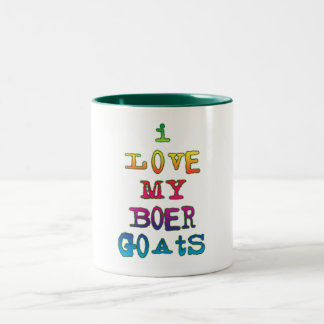 Amo mis cabras del Boer Taza De Café
