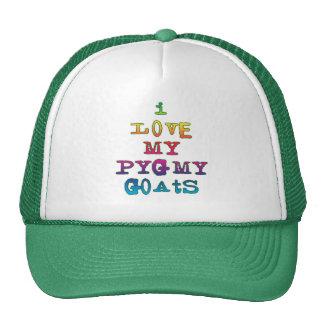 Amo mis cabras enanas gorras