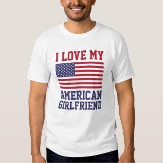 Amo mis camisetas americanas de la novia remeras