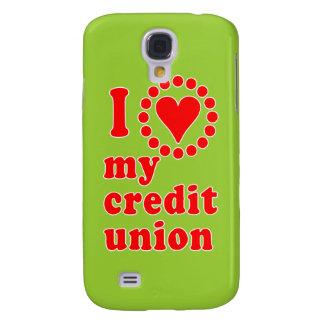 Amo mis camisetas de Credit Union