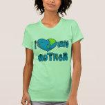 Amo mis camisetas de la madre tierra, tazas