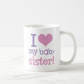 Amo mis camisetas y regalos de los niños de la her taza de café