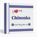 Amo mis chinooks (los perros múltiples)