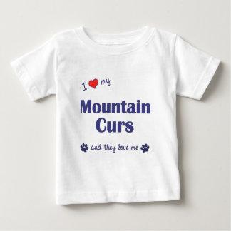 Amo mis Curs de la montaña (los perros múltiples) Camisas