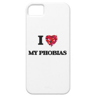 Amo mis fobias iPhone 5 carcasa