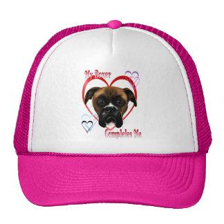 Amo mis gorras del perro del boxeador