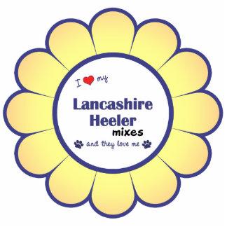 Amo mis mezclas de Lancashire Heeler (los perros m Adorno Fotoescultura