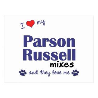 Amo mis mezclas de Russell del párroco (los perros Postal