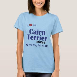 Amo mis mezclas de Terrier de mojón (los perros Playera