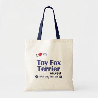 Amo mis mezclas del fox terrier del juguete (los p bolsas