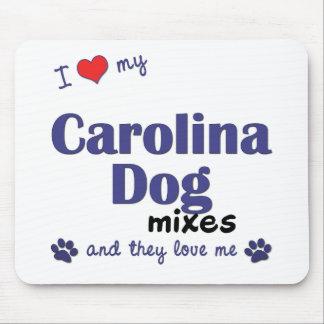 Amo mis mezclas del perro de Carolina (los perros  Mouse Pad