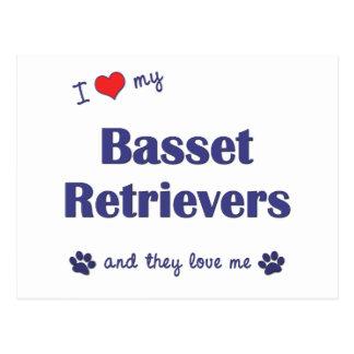 Amo mis perros perdigueros del afloramiento los p postales