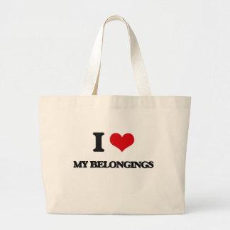 Amo mis pertenencia bolsa de mano