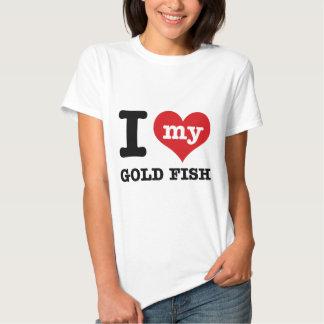 Amo mis pescados del oro polera