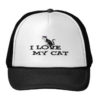 amo mis productos del gato gorro de camionero