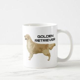 ¡Amo mis productos y diseños del golden retriever! Taza Clásica