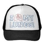 Amo mis pulmones gorro