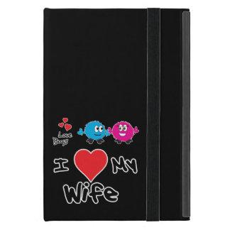 Amo mis regalos de la esposa para los hombres iPad mini protector